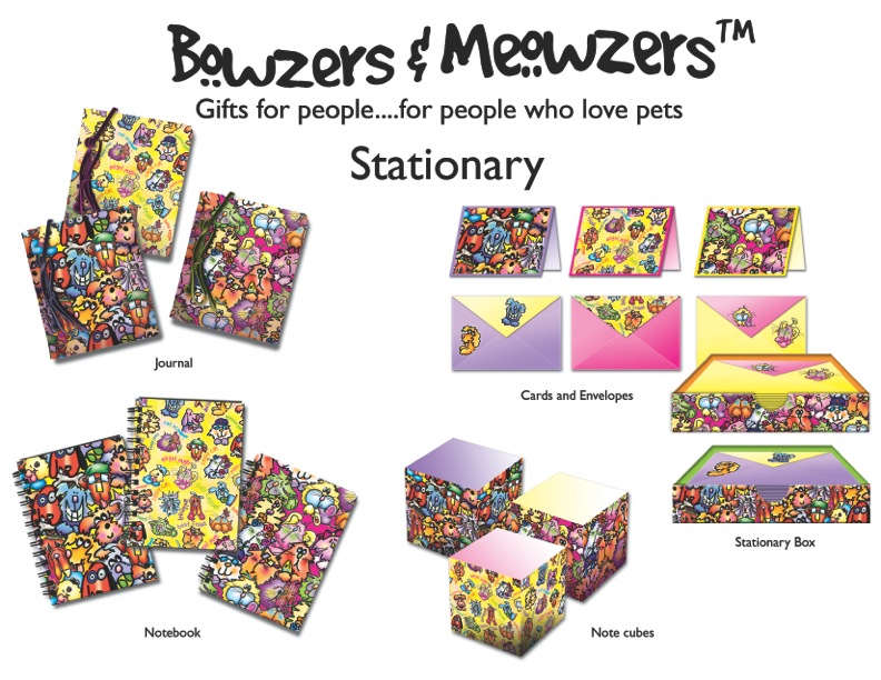 011 Bowzers and Meowzers Collection_stationary