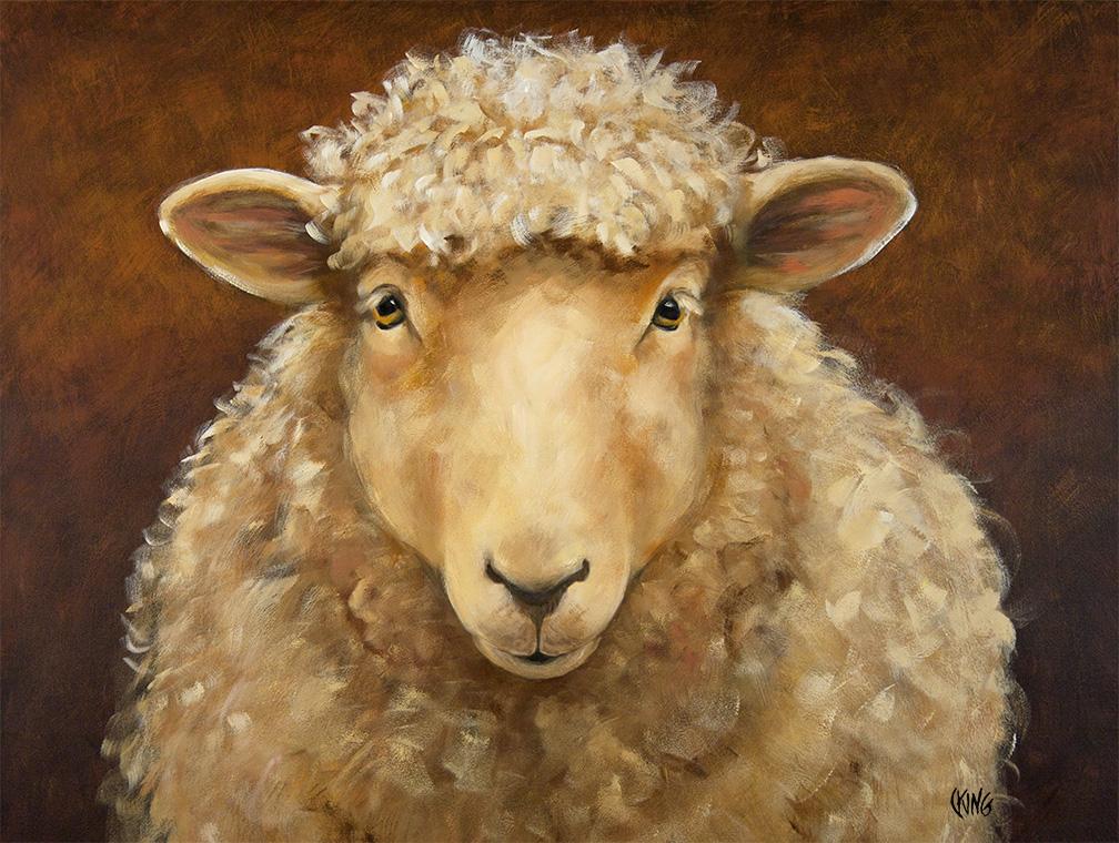 Evening Sheep